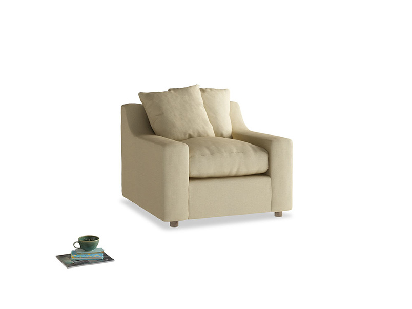 Cloud Armchair in Parchment Clever Linen