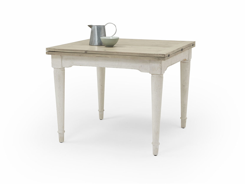 Toaster Flip Top In Vintage White kitchen table