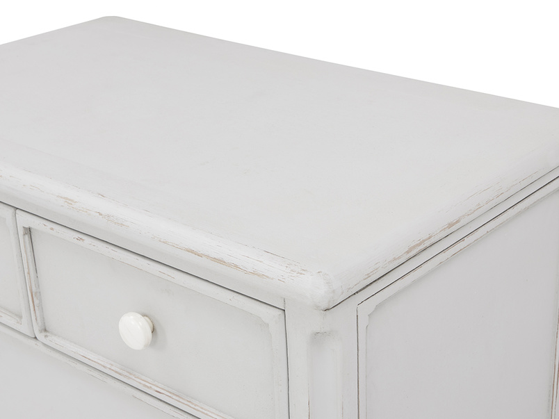Popinjay chest of drawers top detail