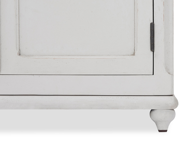 Grand popinjay colourful wardrobe leg detail