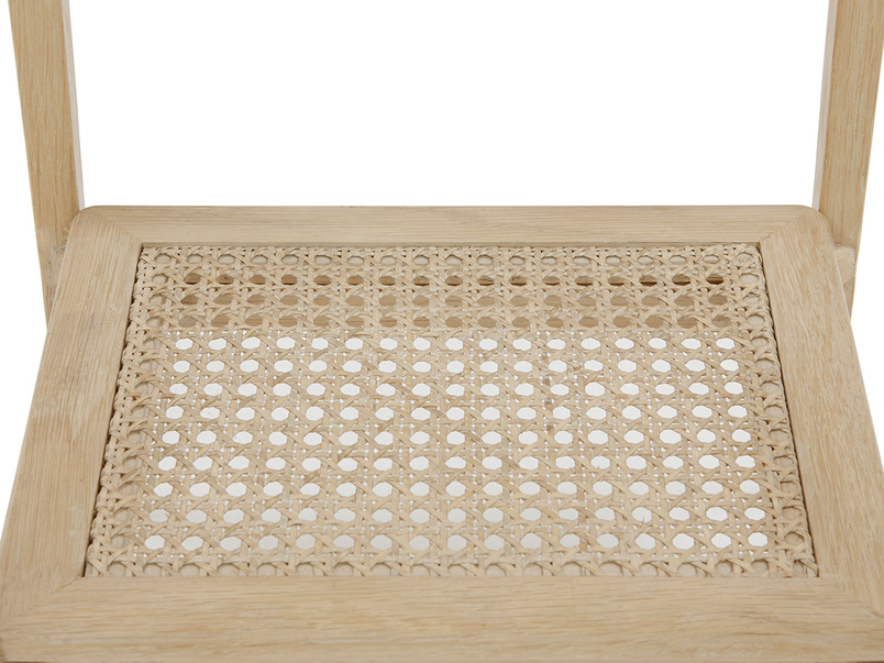 Blaise rattan side table