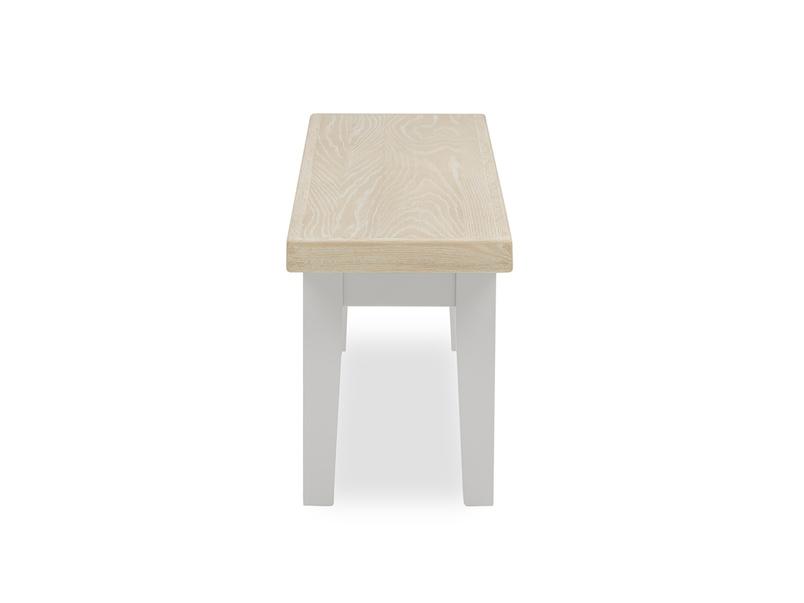 Plonk in pale grey kitchen bench side detail