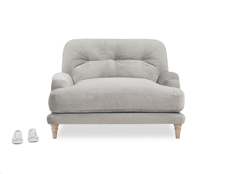 Sugar Bum loveseat with prop