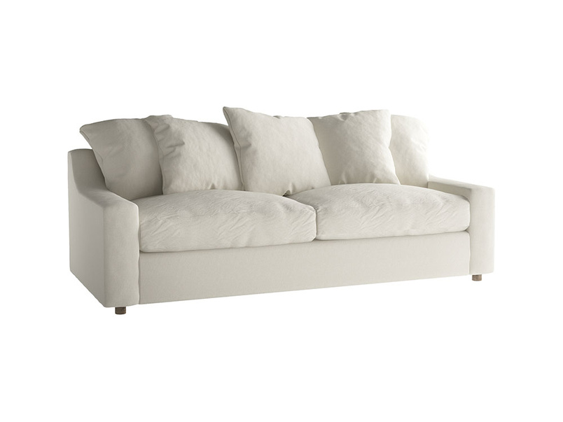 Large Cloud Sofa in Oat brushed cotton