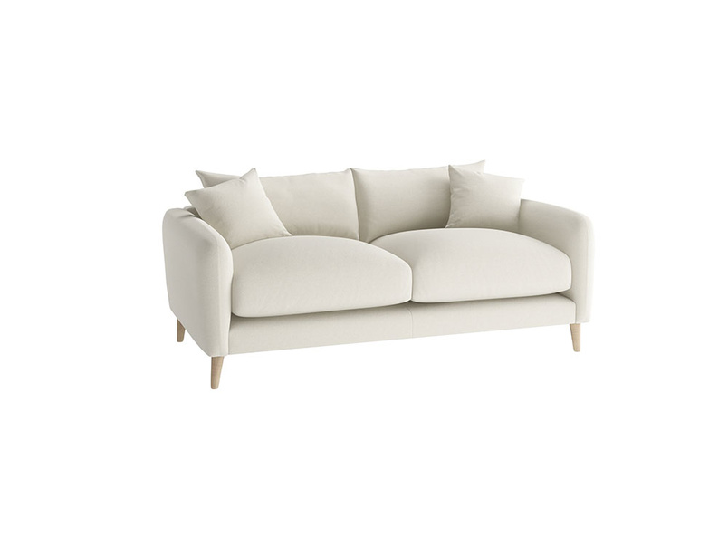 Small Squishmeister Sofa in Oat brushed cotton