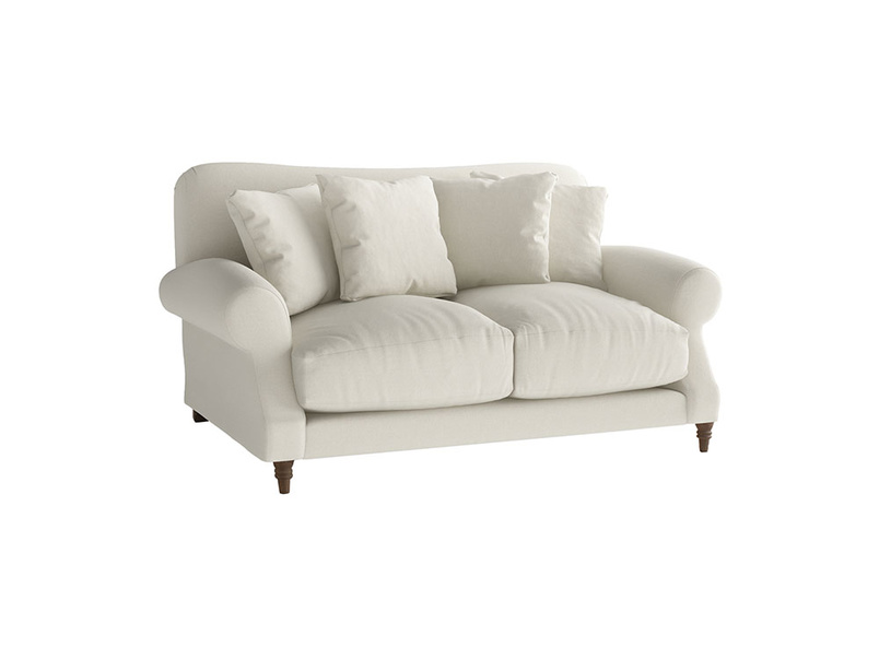 Small Crumpet Sofa in Oat brushed cotton
