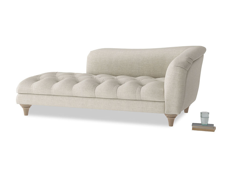 Right Hand Slumber Jack Chaise Longue in Thatch house fabric