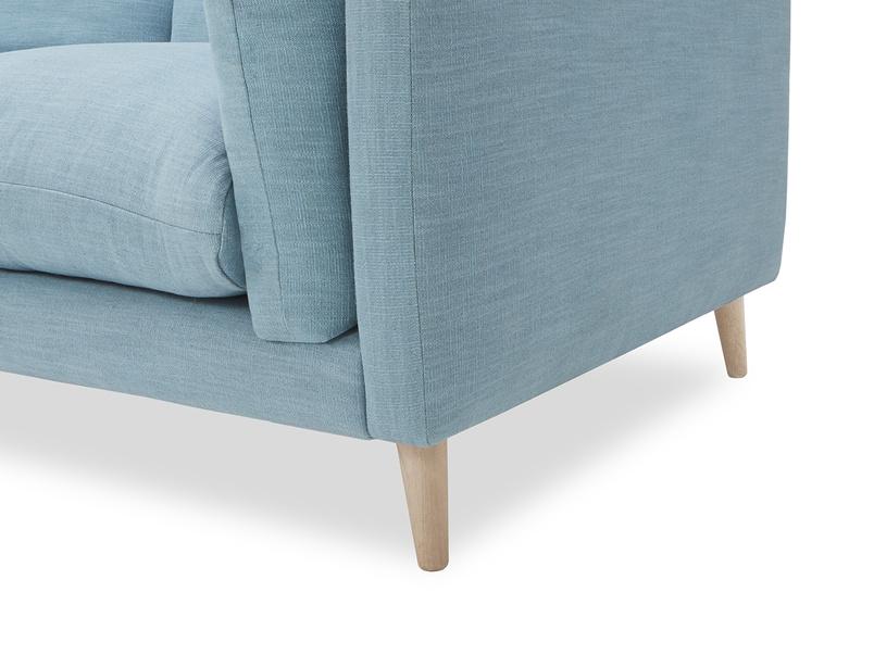 Slo mo contemporary sofa leg detail
