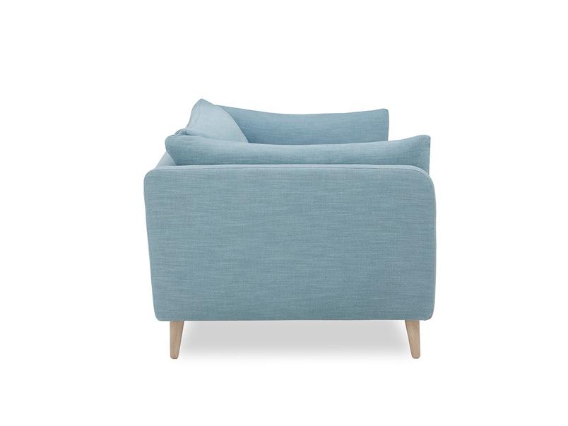Slo mo contemporary sofa side detail