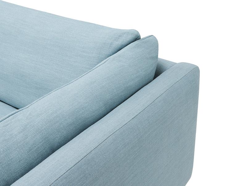 Slo mo deep sofa arm detail