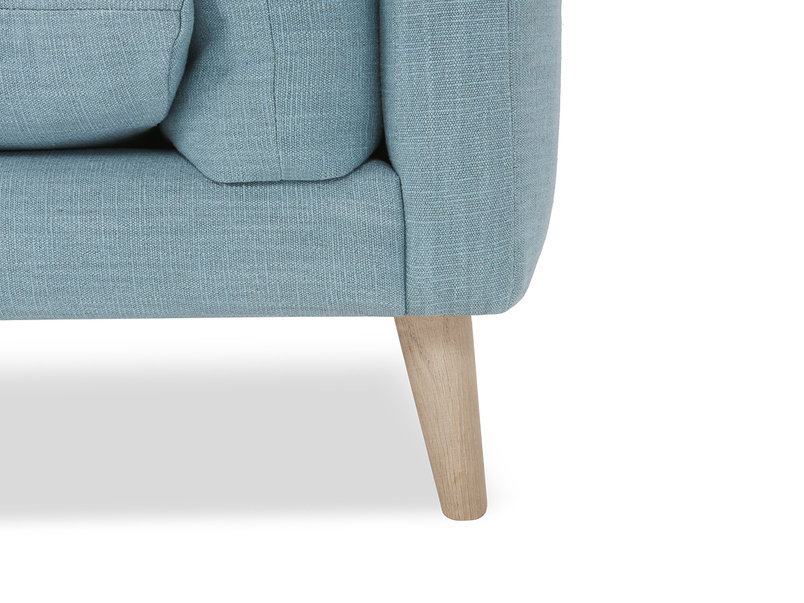 Slo mo sofa leg detail