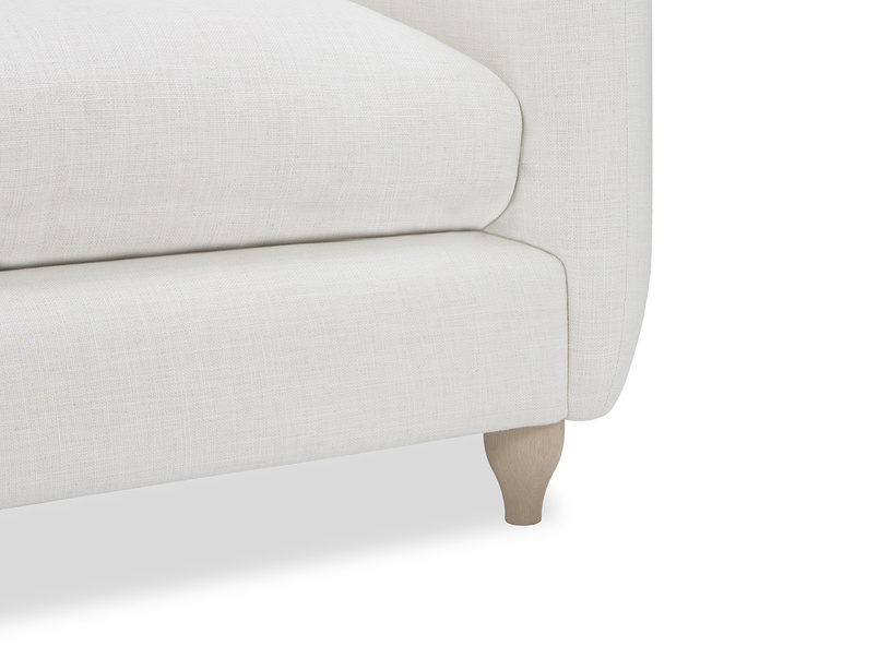 Podge sofa leg detail