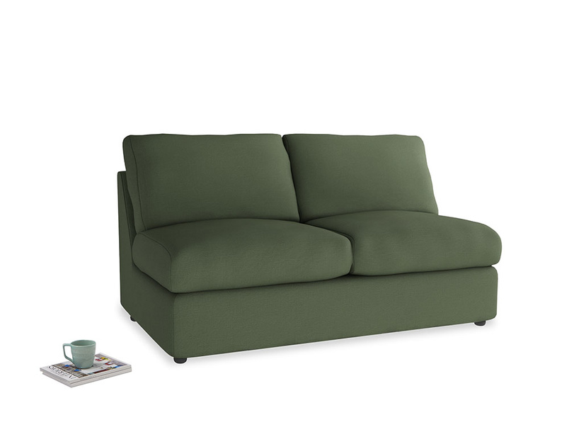 Chatnap Sofa Bed in Forest Green Clever Linen