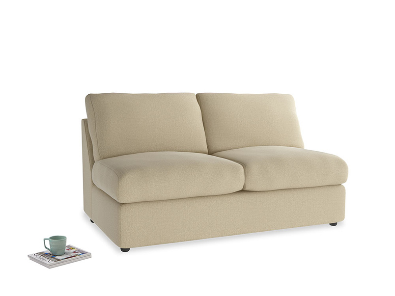 Chatnap Sofa Bed in Hopsack Bamboo Softie