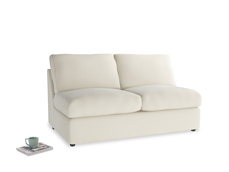 Chatnap Storage Sofa in Alabaster Bamboo Softie
