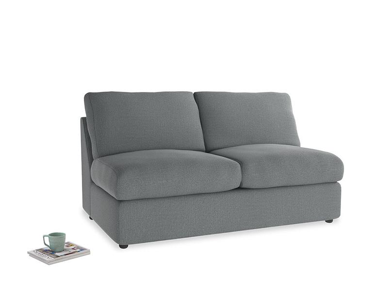 Chatnap Storage Sofa in Cornish Grey Bamboo Softie