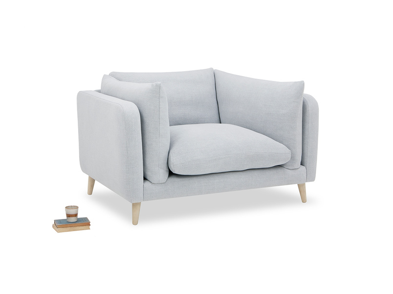 Slo-Mo love seat sofa with prop