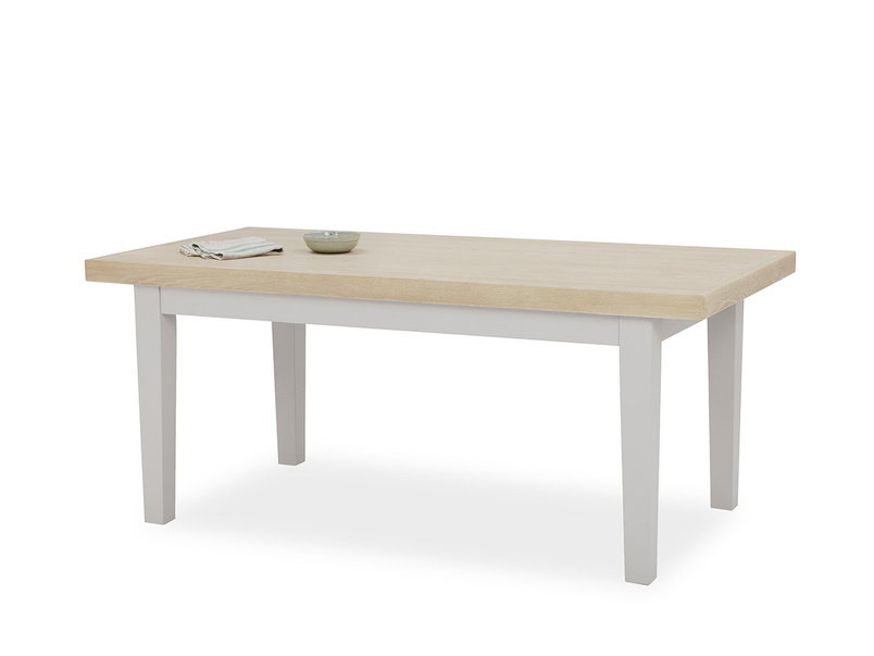 Pantry Table in Pale Grey