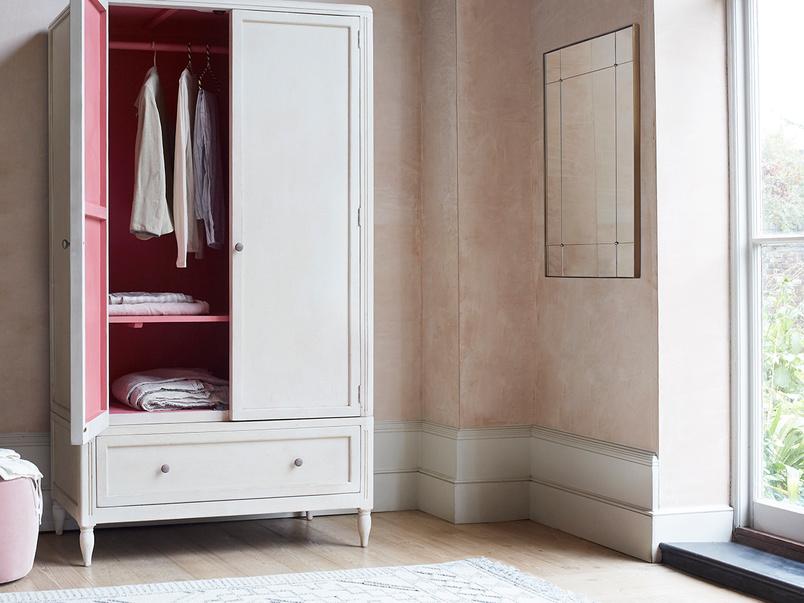 Grand Pimpernel narrow wardrobe wth drawers