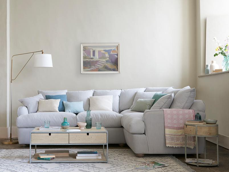Smooch Left Hand Scatter Cushion Back Corner Sofa Bed