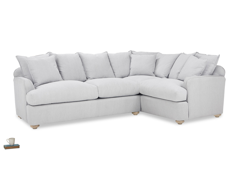 Smooch Scatter Cushion Back Corner Sofa Bed angled