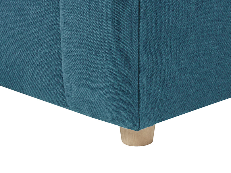 Crumpet Love Seat Sofa Bed leg detail
