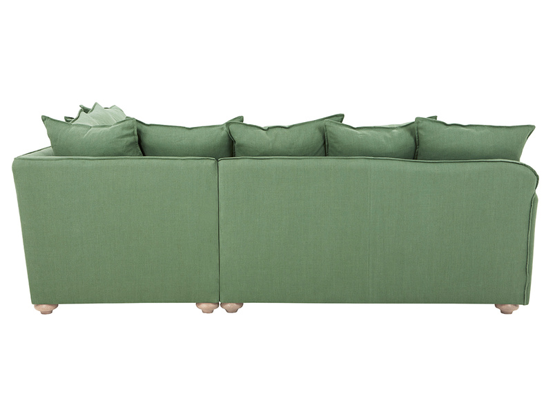 Smooch LA Cushion Back Deep Corner Sofa back detail