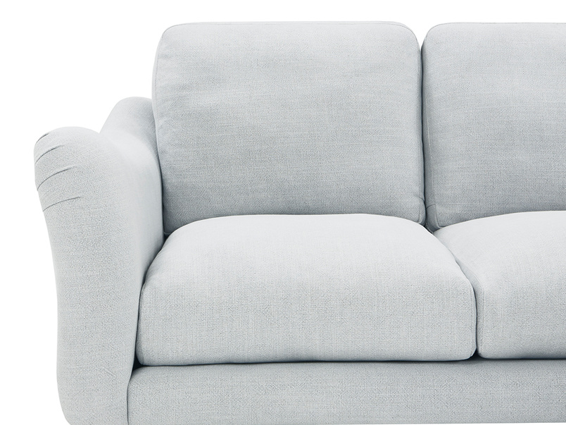 Bumpster Deep LA Corner L Shaped Sofa end detail