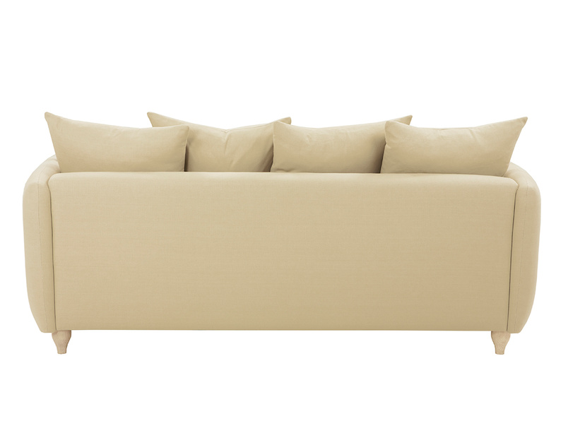 Podge Comfy L Shaped Chaise Sofa back