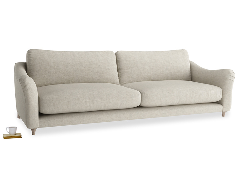 Extra large Bumpster Sofa in Thatch house fabric
