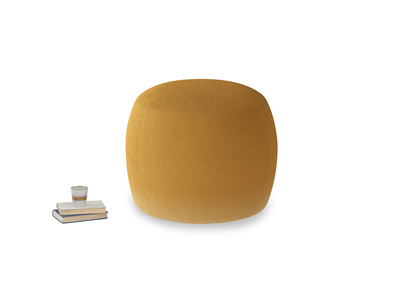 Little Cheese in Burnished Yellow Clever Velvet