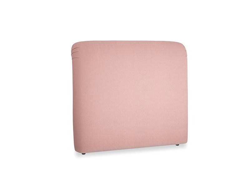 Double Cookie Headboard in Vintage Pink Clever Velvet
