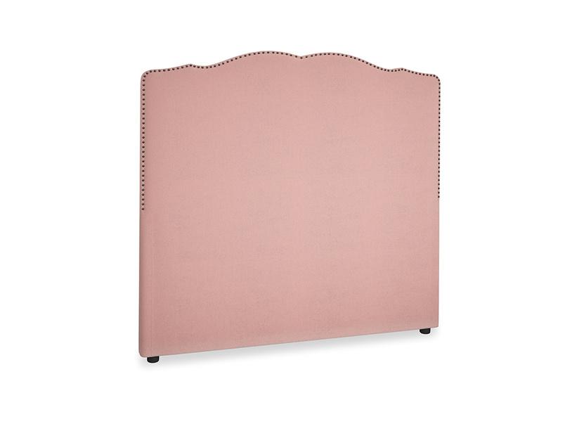 Double Marie Headboard in Vintage Pink Clever Velvet