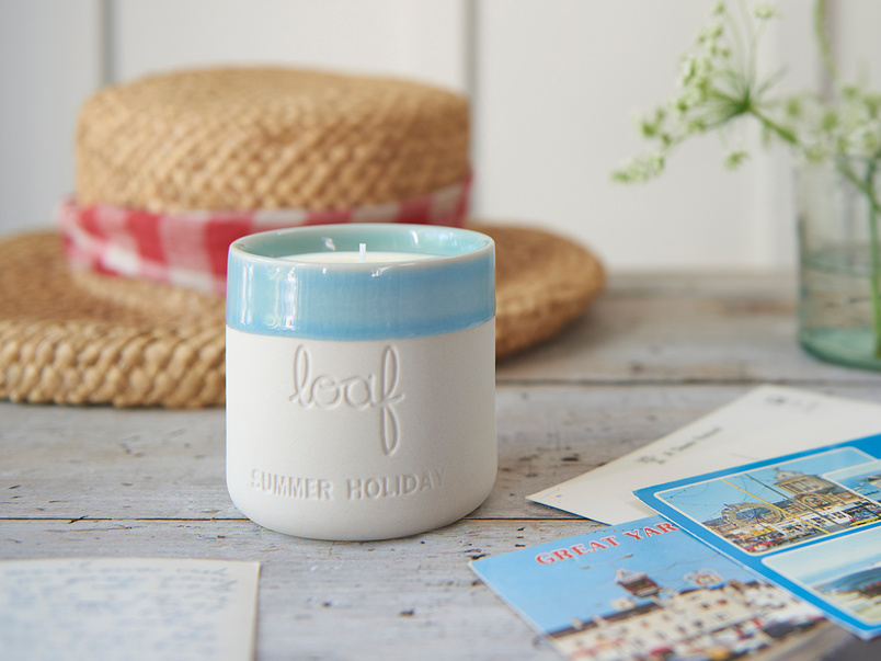 Summer Holiday - natural wax scented candle