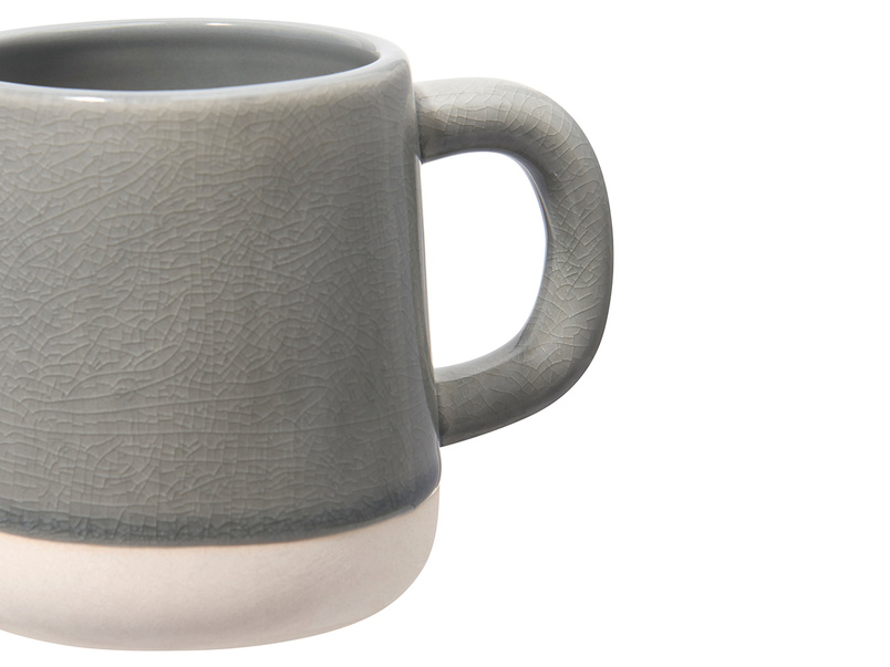 Muggins Mug in Baking Tin Grey