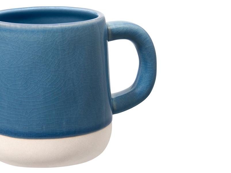 Muggins coffee Mug in Blue Apron
