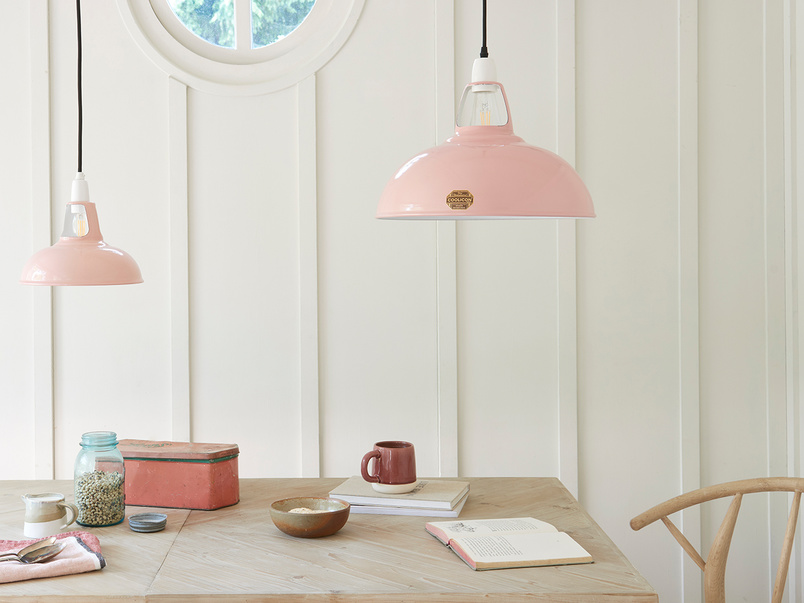 Coolicon® Original 1933 Pendant Shade in Powder Pink