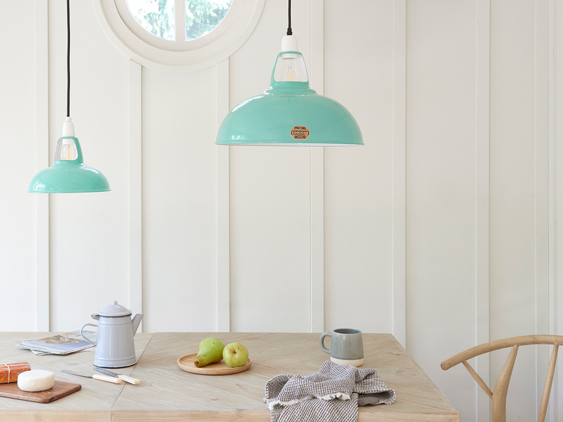 Coolicon® The Original 1933 pendant light shade in Fresh Teal