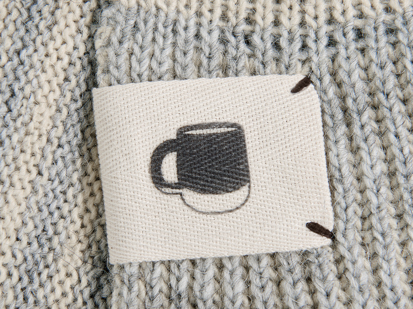 Easy Knit Throw blanket in Grey