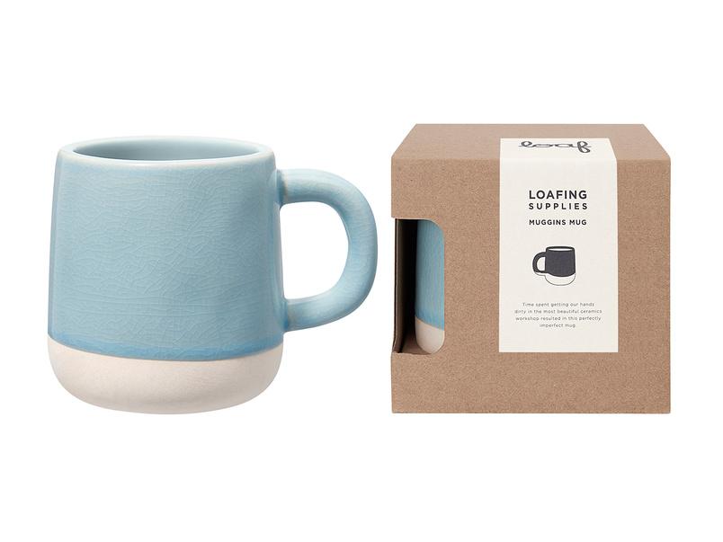 Muggins Mug in Baker's Blue