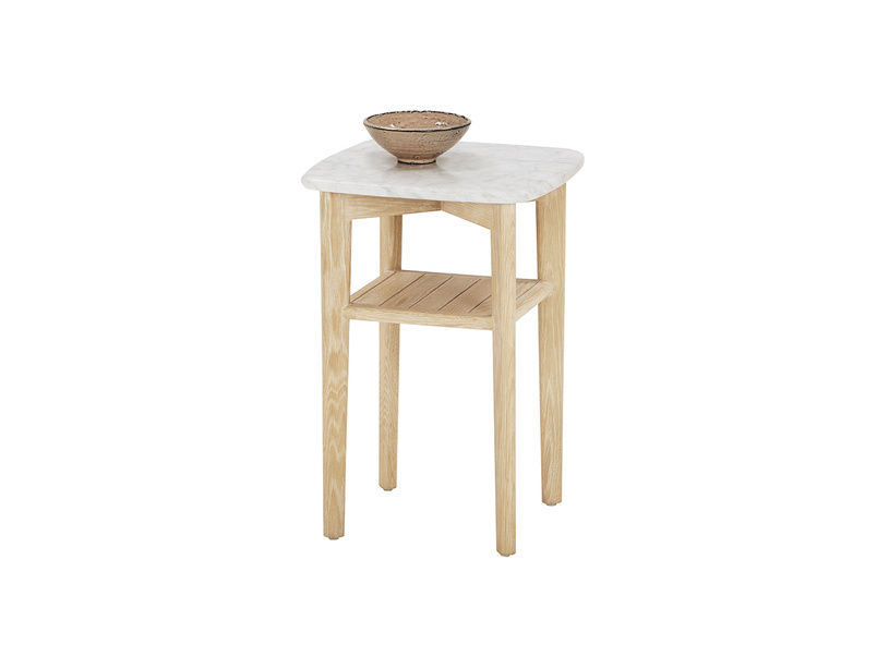 Marbler side table