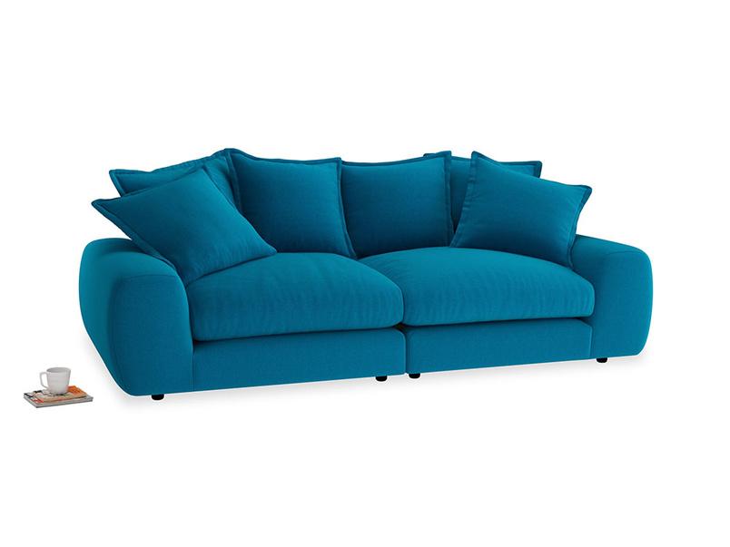 Medium Wodge Modular Sofa in Bermuda Brushed Cotton