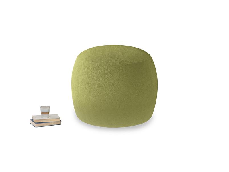 Little Cheese in Light Olive Plush Velvet