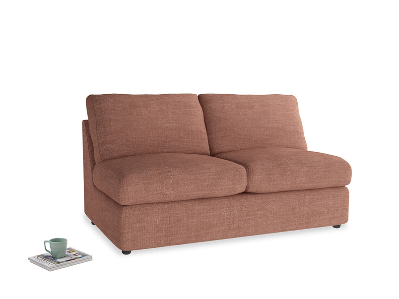 Chatnap Storage Sofa in Dried Rose Clever Laundered Linen