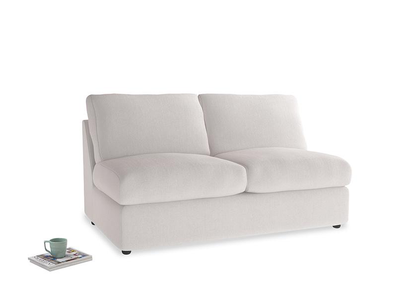 Chatnap Storage Sofa in Winter White Clever Velvet