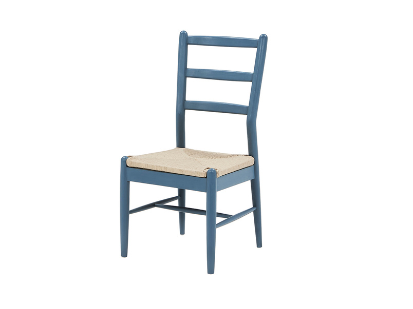Hobnob painted farmhouse chair