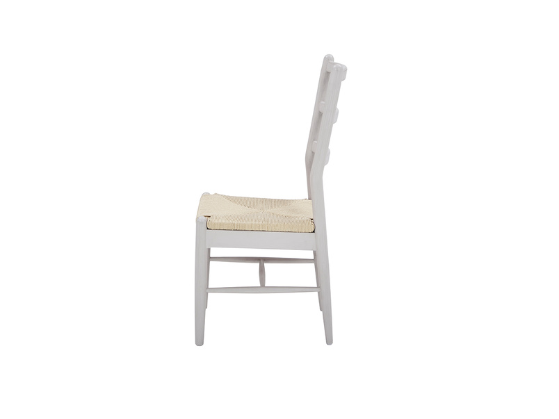 Hobnob kitchen chair in Pale Grey with Popinjay bedroom drawers in grey