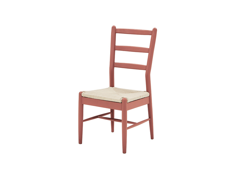 Hobnob kitchen chair in Earthy Red
