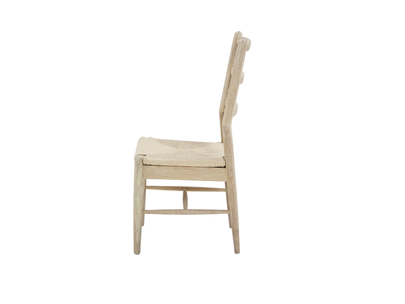 Hobnob chair in natural with Molly farmhouse larder cupboard