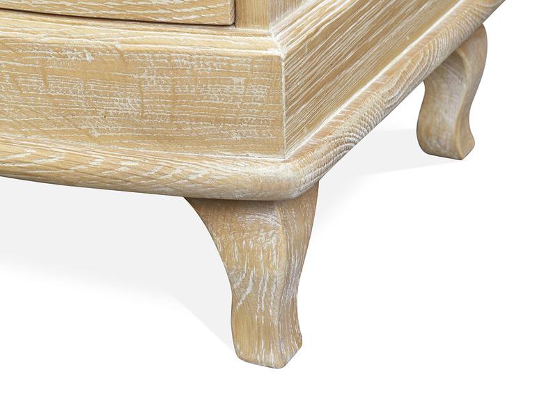 Bastille bedside table In Weathered Oak